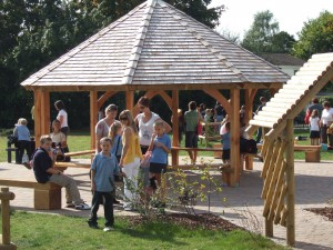 school grounds design and build and school shelters and gazebos