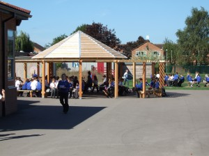 school grounds shelters and gazebos