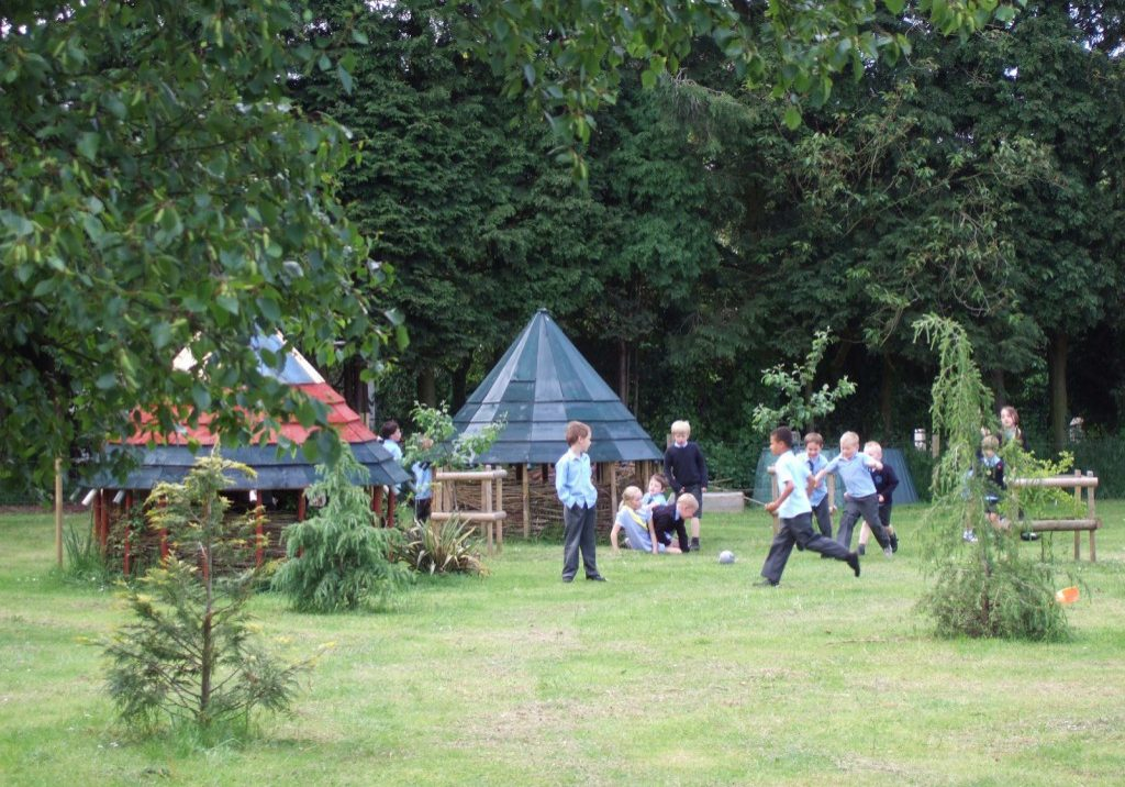 school grounds design and natural playground design and build